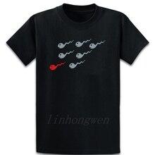Sperms Sperma premamá semilla camiseta Fitness primavera manga corta sobre el tamaño S-5XL nuevo estilo estampado de ocio carta camisa