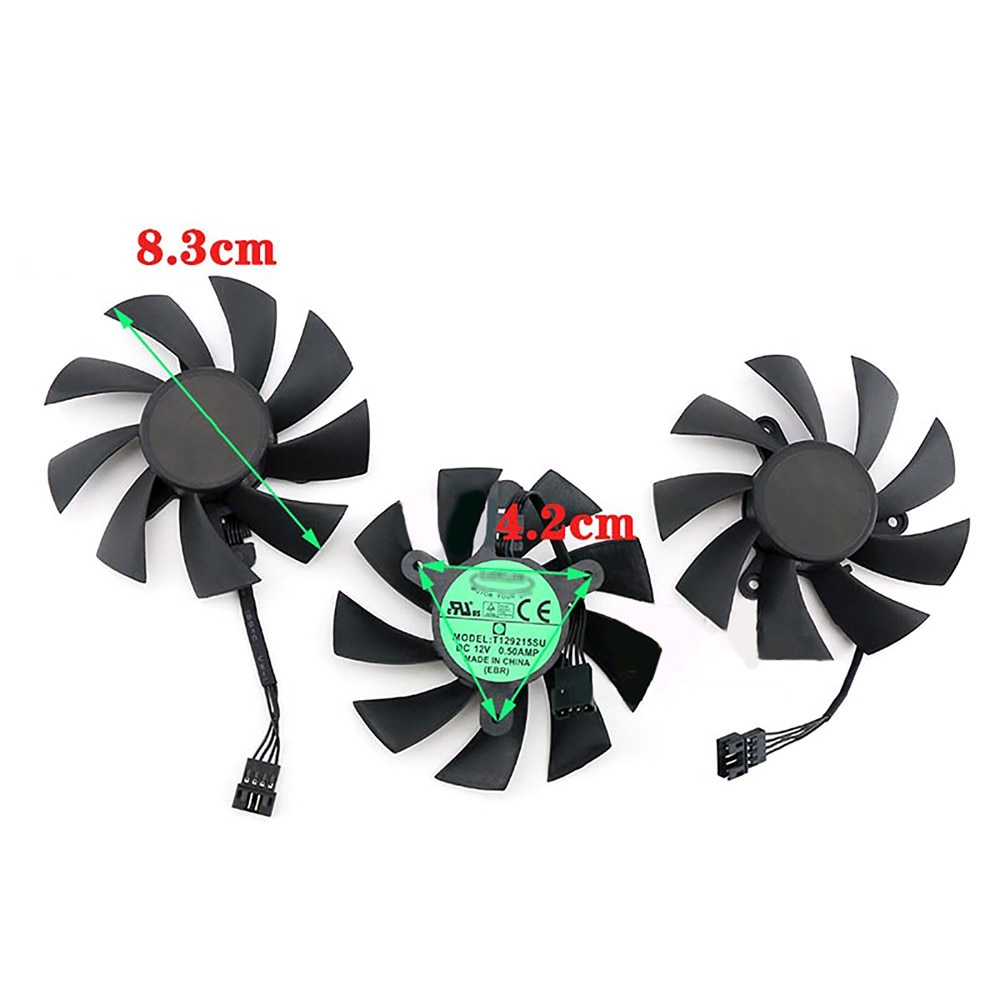 Replacement PLA09215S12H Cooling Fan Video Card Cooler for Gigabyte RTX 2080ti 2080 2070 Super Gaming Graphics Card Accessories