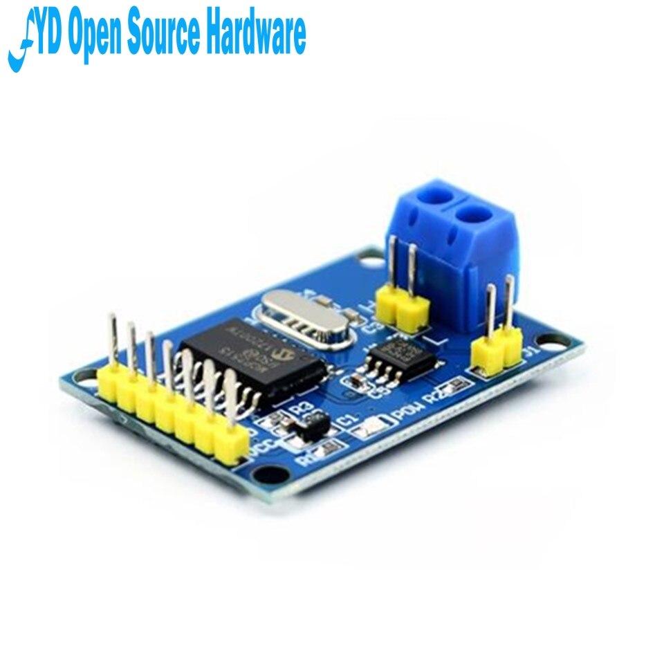 1 pièces MCP2515 peut Bus Module TJA1050 récepteur SPI pour 51 arduino Kit de bricolage MCU bras contrôleur