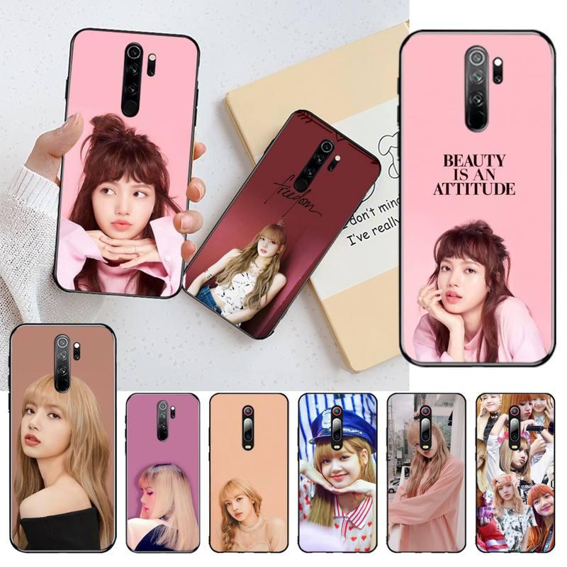 CUTEWANAN Rapper Lalisa Manoban LISA Coque Shell Phone Case for Redmi Note 8 8A 7 6 6A 5 5A 4 4X 4A Go Pro Plus Prime