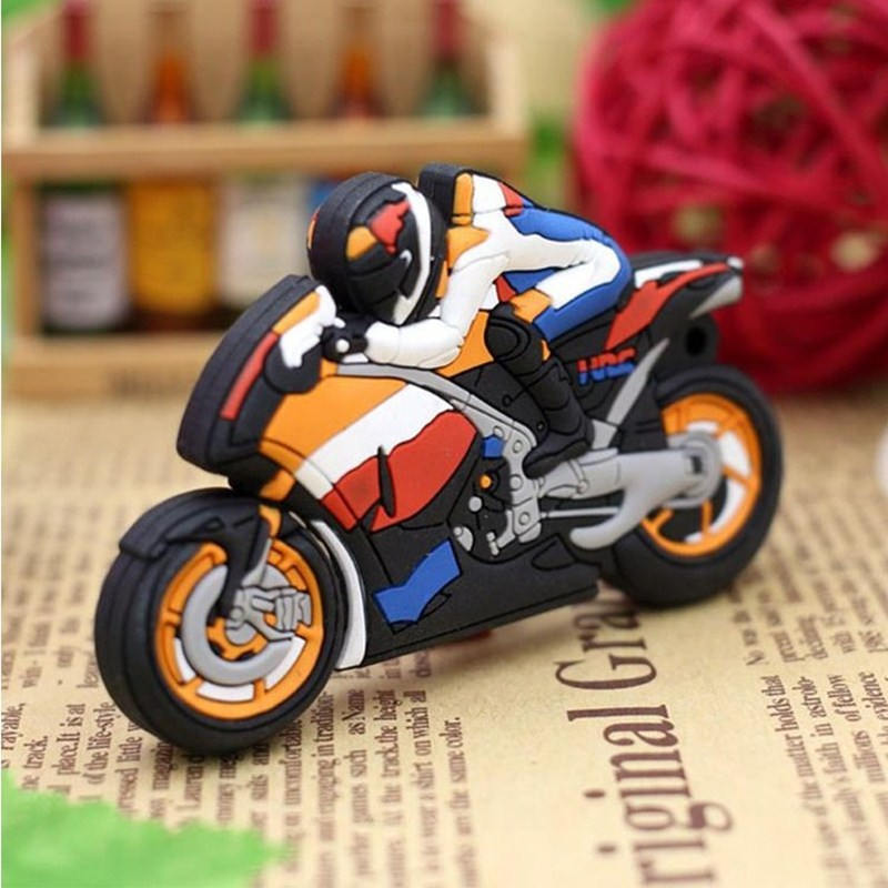 Classic Motorcycle Style Pen Drive 256GB Usb Flash Drive Portable Pendrive 128GB Flash Memory Card 512GB Usb Stick Free Shipping