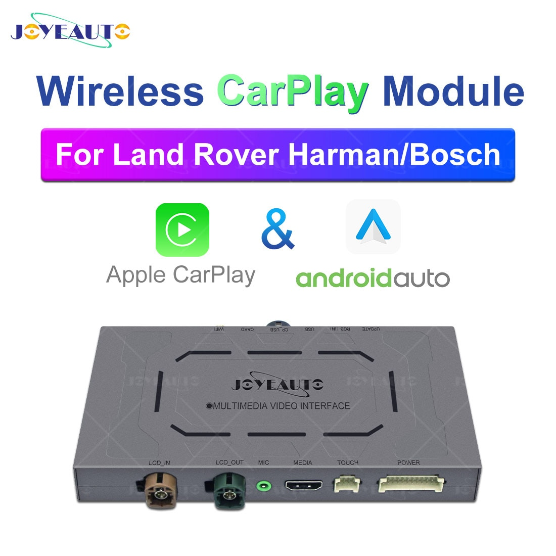 Promo JoyeAuto Wireless Apple Carplay Android Auto Car Module For Land Rover Evoque Discovery 5 Sport Harman Bosch Mirrorlink Decoder