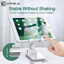Универсальная настольная подставка Cafele для планшета iPad Pro Mini, Регулируемая Складная Настольная подставка из сплава для телефона