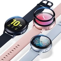 3d full screen protector film for samsung galaxy watch active 2 40mm 44mm anti bubble soft round edge screen protector cover