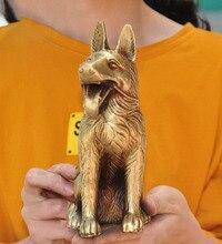 wedding decoration Chinese Feng Shui brass wealth Zodiac animal Dog Hound Doggy Pooch Doggie statue
