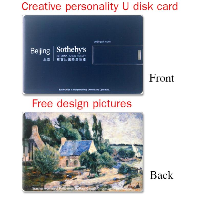 50 Pics/Lot Real 4G/8G/16G/32G Banco Tarjeta de Crédito Forma USB Pluma Unidad Flash Memory Stick mejor regalo Envío de La Gota + Envío Gratuito