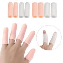 5Pcs/Set Silicone Gel Tubes Toe Separator Finger Protector Callus Bunion Corrector Corns Blisters Pa