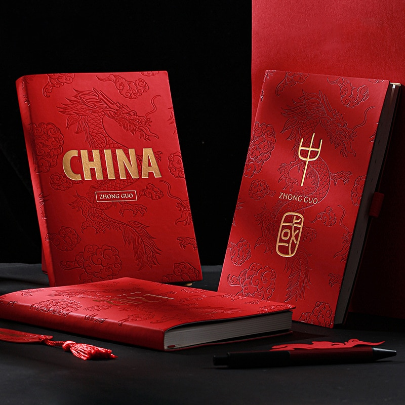 Agenda 2021 Palnner Organizer Red A5 Diary Notebook and Journal Weekly Note Book Wonderful Travelers Notepad Business Daily Plan