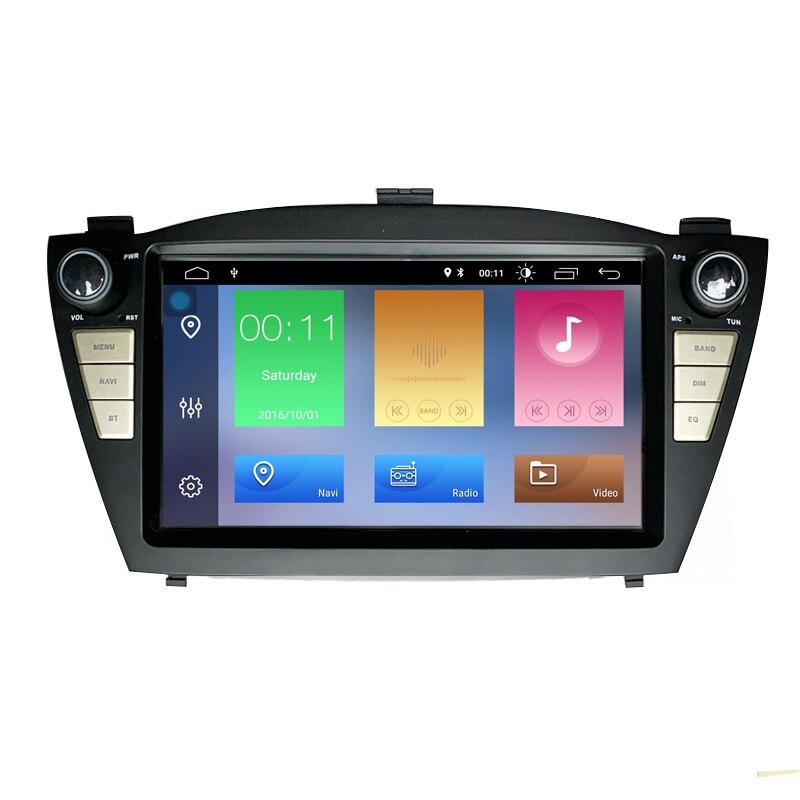 DSP Carplay 2 Din Android pantalla táctil del coche reproductor Multimedia GPS para Hyundai IX35 TUCSON 2009-2014 Auto Radio USB DVR reproductor de DVD