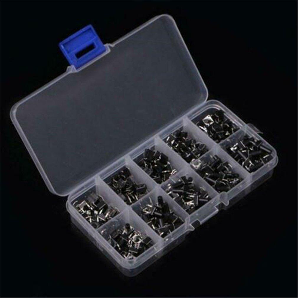 100 STÜCKE 200 stücke 6x6 Micro Tact Switch Tactile Push Button Switch DIP 4P 6X6x4.3/5/6/7/8/9/10/11/12/13mm für arduino DIY KIT