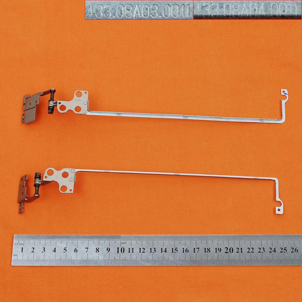 Новые петли для ноутбука Lenovo V110-14 V110-14AST без касания PN:433.08A04.0011 433.08A03.0011