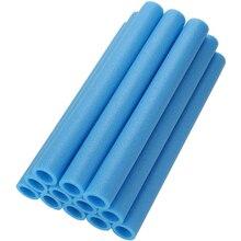 12PCS 40CM Trampoline Poles Cover Padding Foam Tubing Foamed Pipe Sponge Casing Protective Trampoline Pole Foam Sleeves Blue
