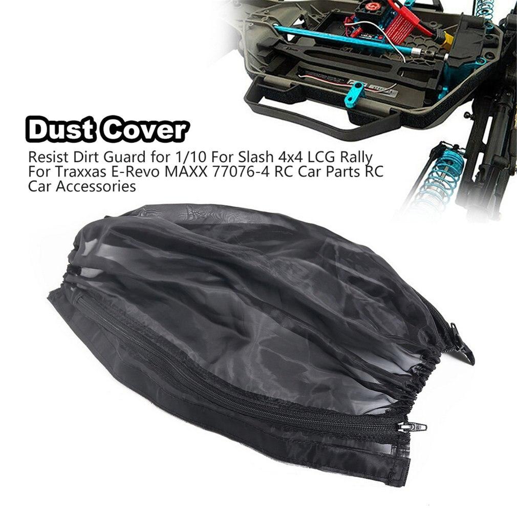 Cubierta antipolvo, resistente a la suciedad para 1/10 Para Slash 4x4 LCG Rally para Traxxas e-revo MAXX 77076-4 RC, piezas de coche, accesorios de coche RC