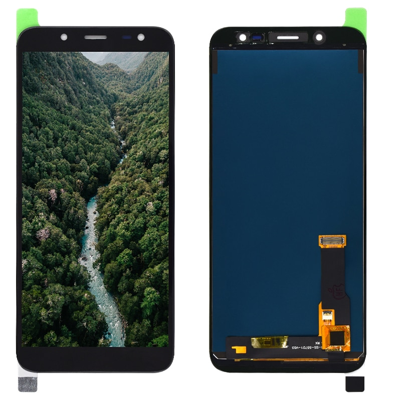 Para Samsung Galaxy J6 2018 J600 J600F J600F/DS pantalla LCD probada con montaje de digitalizador con pantalla táctil J600G/DS LCD reemplazo
