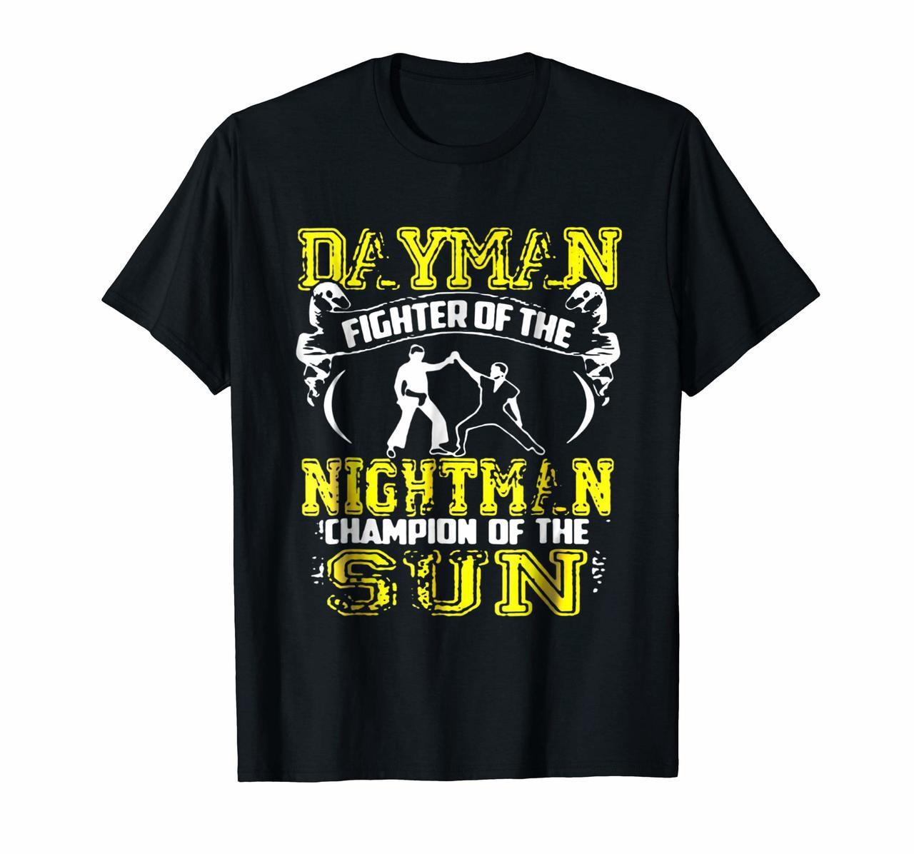 Camiseta DAYMAN FIGHTER OF THE NIGHTMAN S3147, camiseta para hombre, mujer, hombre, chica, camisetas de verano 2020