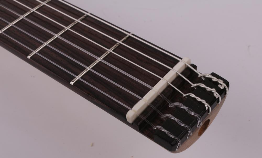 new design nylon string headless classical silent electric guitar built in effect travel portable free shipping enlarge