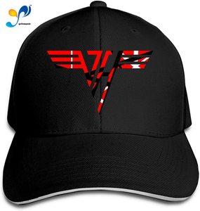 Unisex Fashion Sandwich Cap Van?Halen Adjustable Baseball Hip Hop Cap Trucker Sandwich Hat For Sports