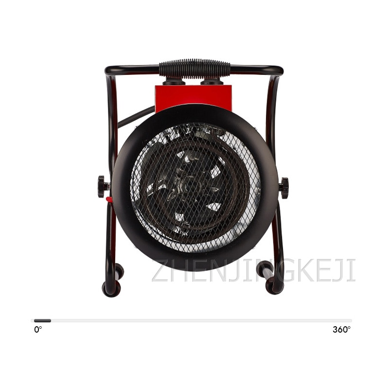 3kw Industrial Electric Heaters High-Power Electric Hheaters Heaters Drying Culture Heating