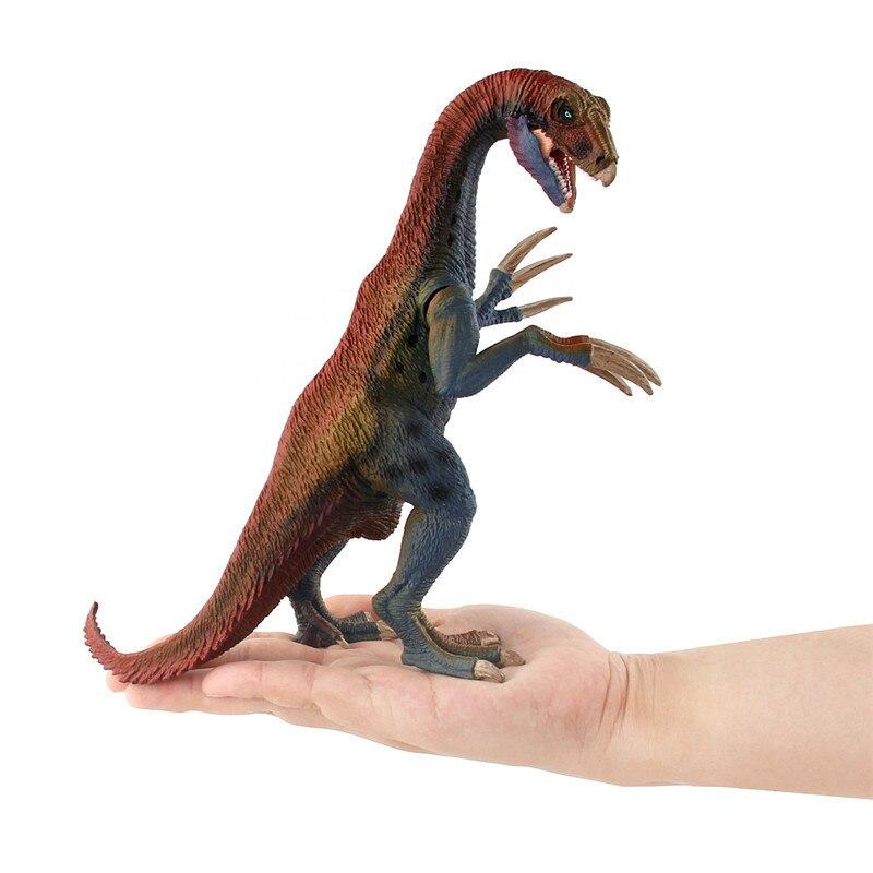 Dinosaurio Jurásico de Simulación mundial de figuras de juguete de PVC 19CM dragón hoz dinosaurio decoración juguete de aprendizaje para colección para niños