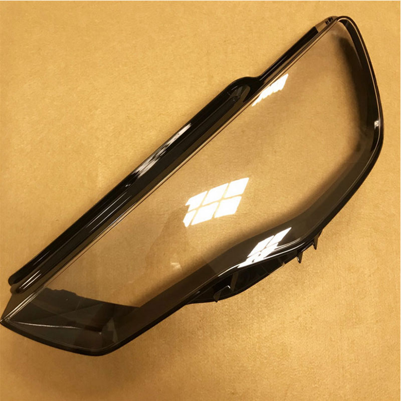 Front headlights headlights glass lamp shade shell lamp cover transparent masks For audi A3 2013-2015