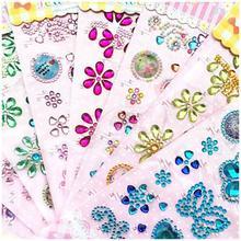 Pegatinas de mariposa de cristal acrílico para niños, calcomanías artesanales, accesorios para teléfono móvil, ordenador portátil, decoración, Juguetes