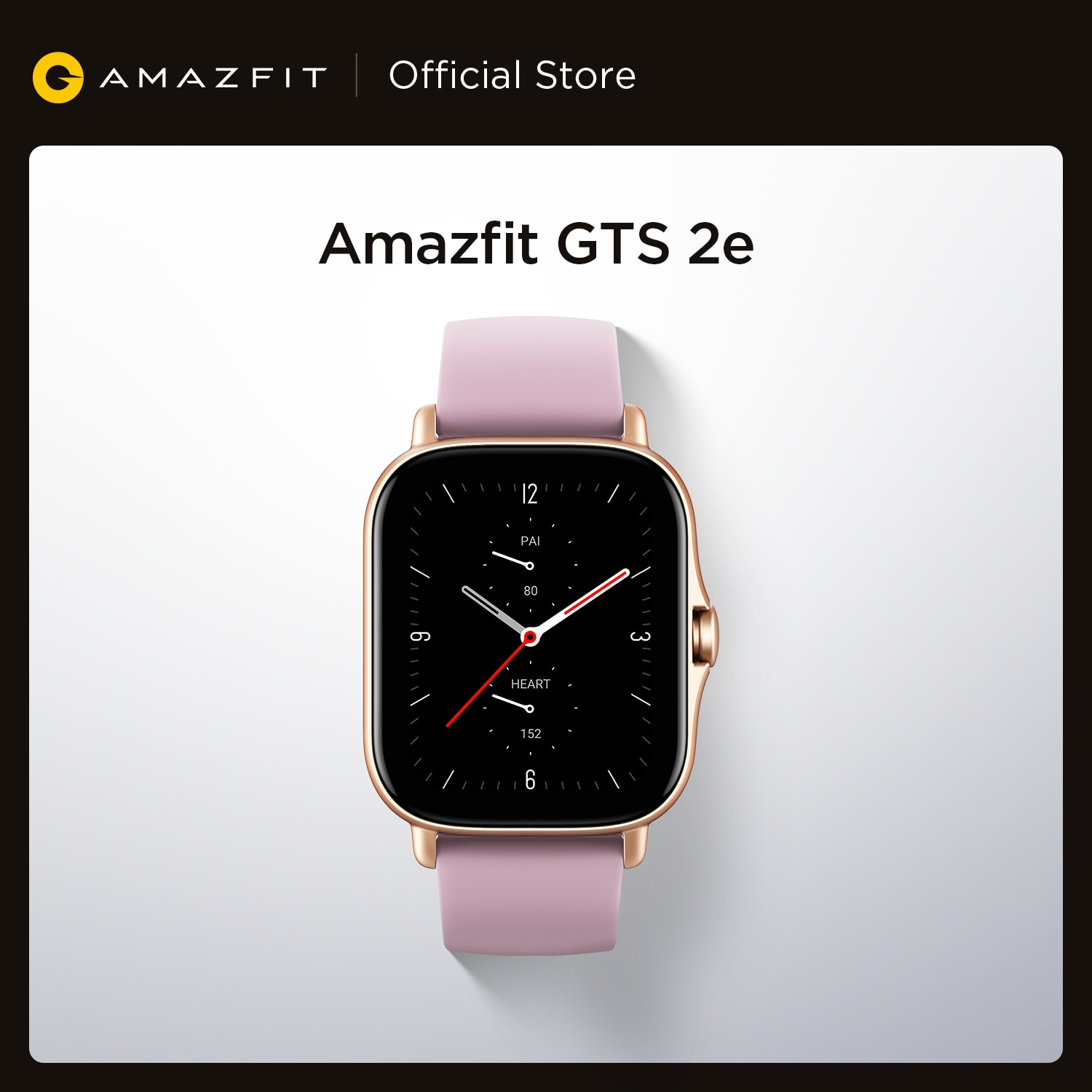 Promo New Original Global Amazfit GTS 2e Smartwatch 24 Days Battery Life Alexa Built-in 5 ATM  Smart Watch for Android iOS Phone