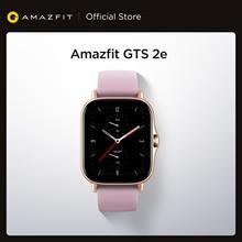 Nouveau Original Global Amazfit GTS 2e Smartwatch 24 jours dautonomie 5 ATM montre intelligente 24H fréquence cardiaque pour téléphone Android iOS