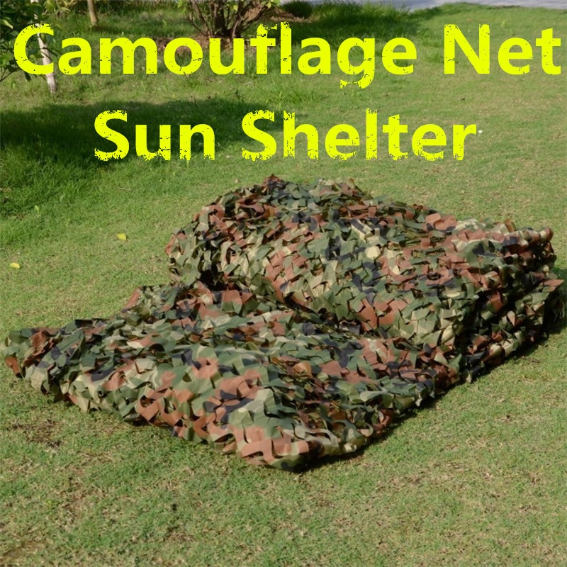 32.8ftx5ft/10mx1.5m Woodland Camouflage Netting for Camping Military Hunting Shooting Blind Watching Hide Party Decorations