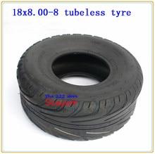 Pneus tubeless 205/60-8 18x8.00-8   Pneus pour vélo chinois Harley de 8 pouces, ATV Quad Go-kart, pneus à roues sous vide