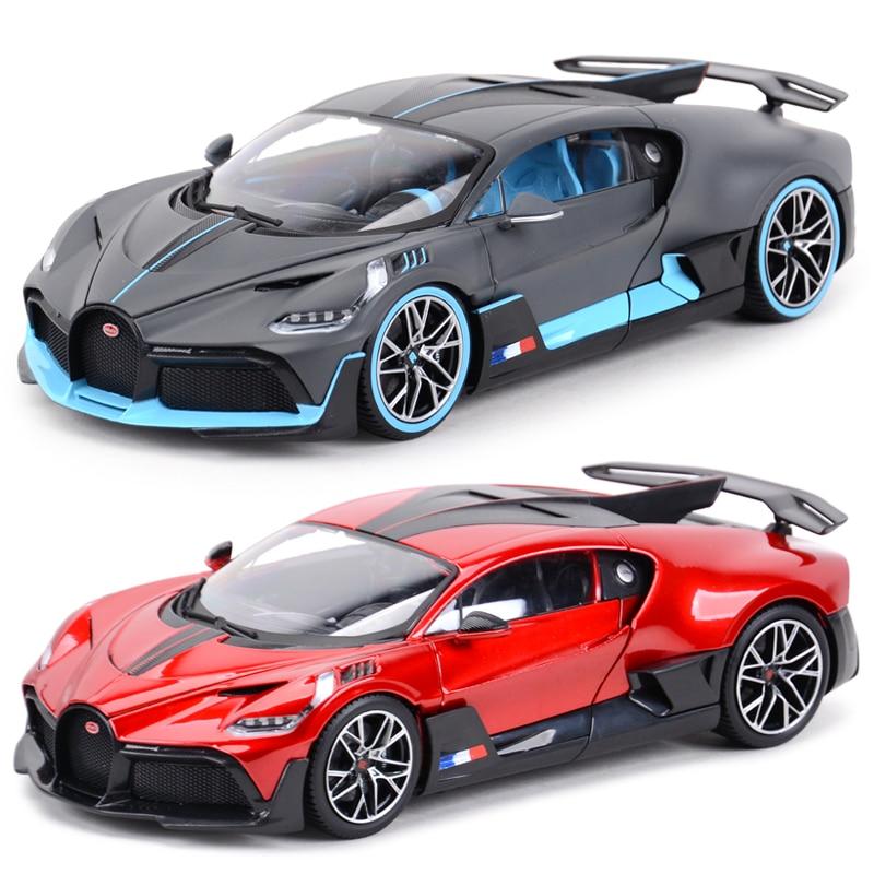 Bburago 1:18 بوجاتي ديفو سيارة رياضية ثابت محاكاة يموت يلقي المركبات تحصيل نموذج سيارات لعب