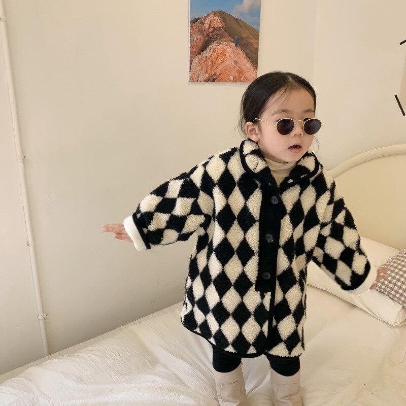 ملابس أطفال شتوية من MILANCEL موضة 2021 سترات كورية للفتيات للفتيات سترة سميكة ملابس خارجية للأطفال
