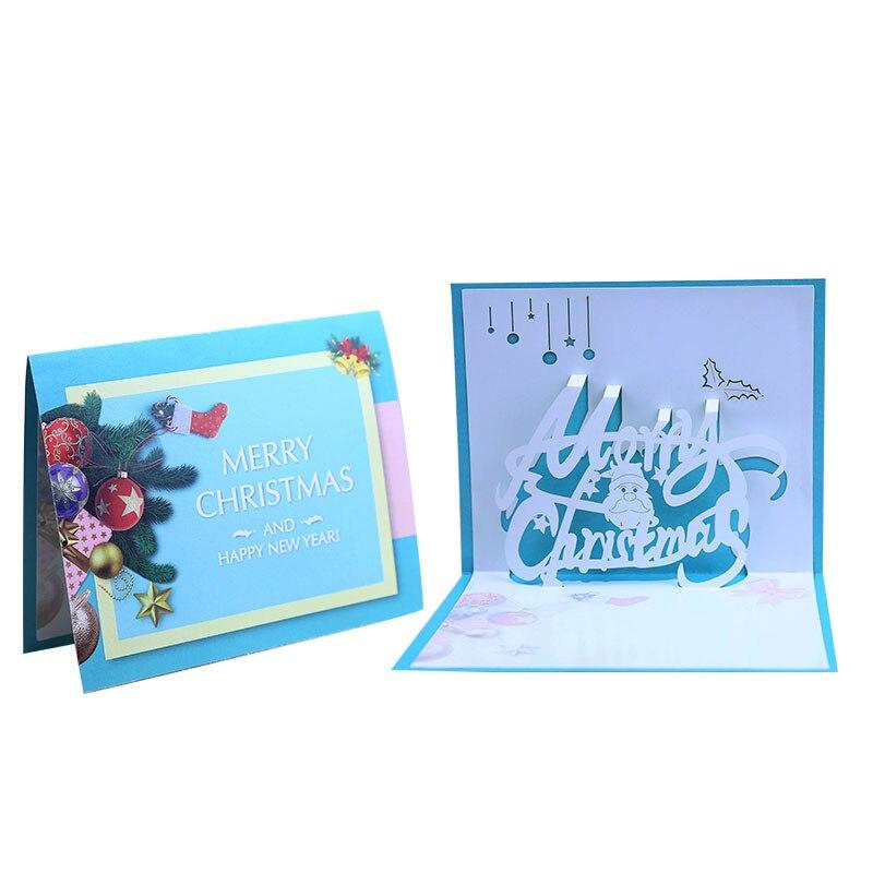Tarjeta de felicitación de Navidad creativa sección de la paz de la resurrección coreana 3D tarjeta personalizada hecha a mano tarjeta de visita stock