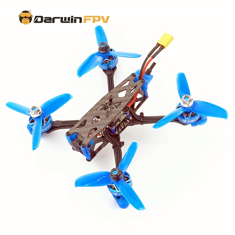 DarwinFPV طائرة بدون طيار FPV Quadcopters Darwin79 140 مللي متر جوني 3 بوصة DIY النسخة F4 OSD 30A BLHeli_S Dshot600 40CH 200mW 1200TVL