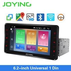Joying um ruído rádio do carro android 8.1 estéreo 6.2 polegada unidade principal universal 1gb ram 16gb rom gps navigationautoradio áudio player