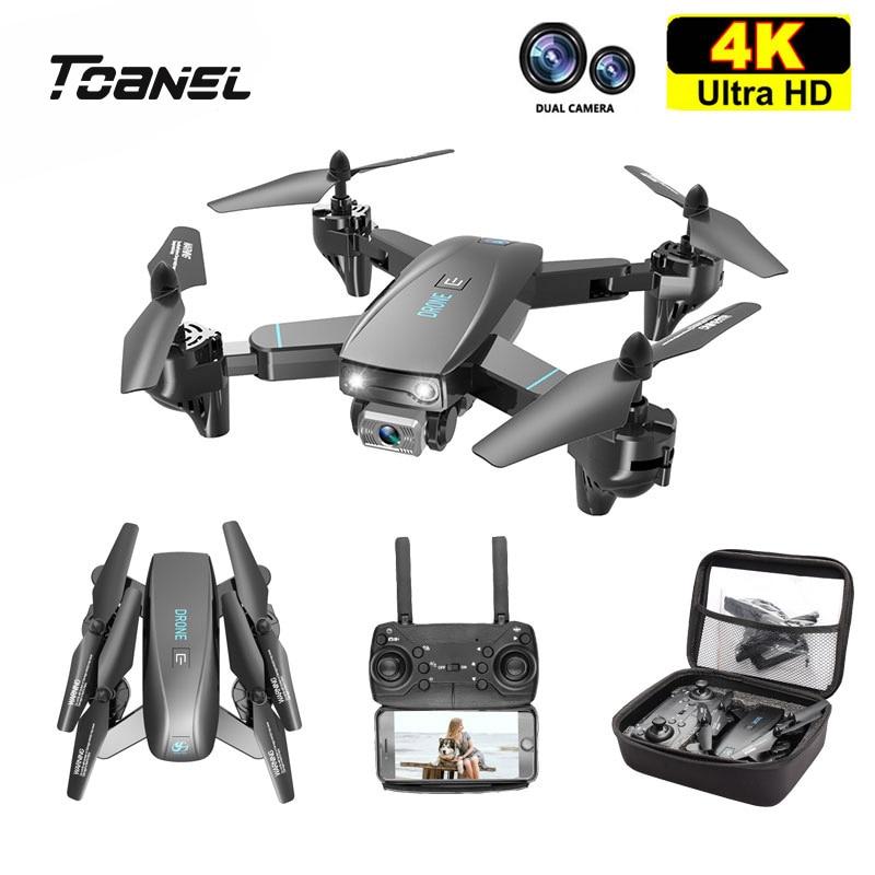 S173 صغيرة بدون طيار مع كاميرا مزدوجة 4K HD المهنية واسعة زاوية Selfie WIFI FPV VS RC Quadcopter Dron