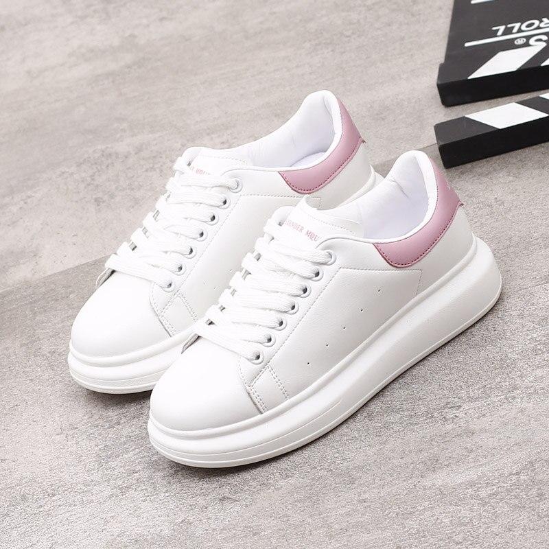High Quality HIP HOP Footwear Platform Lace-up Running Shoe Warm White Men Sneakers Women Fashion Vu