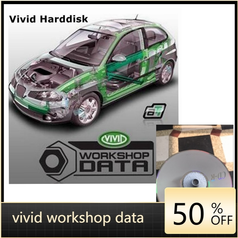 2021 Hot Selling  Software Vivid Workshop Data V10.2 Automotive Auto Repair Software 2010 With English Spanish Free Shipping недорого
