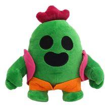 Kaktus pluszowa lalka 20cm animacja gra Spike nadziewane Model pluszowa lalka miękka Cactu dzieci prezent urodzinowy dla dziecka Anime miękki pluszowy zabawka