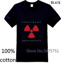 New Kraftwerk Radioactivity Electro Music Group Mens Black New Men mens t shirt t-shirt tops tees 100% cotton man