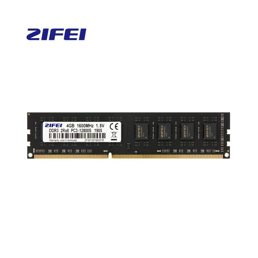 DDR3 RAM 4GB 1600MHZ/1333MHZ/1066mhz, 1,5 v 240Pin Intel/AMD UDIMM NON-ECC escritorio memoria ZIFEI de ram, soporte de doble canal