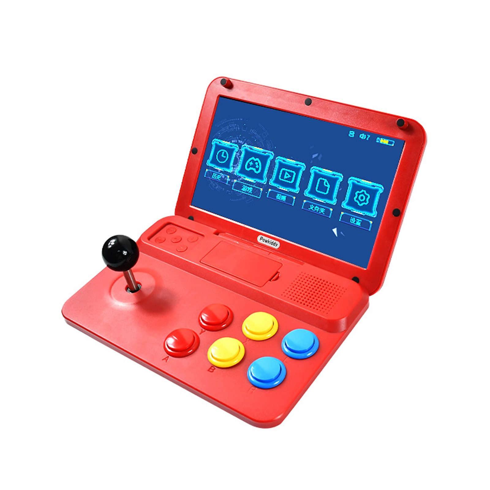 NEW POWKIDDY A13 10 Inch Joystick Arcade A7 Architecture Quad-Core CPU Simulator Video Game Console New Game Children's Gift