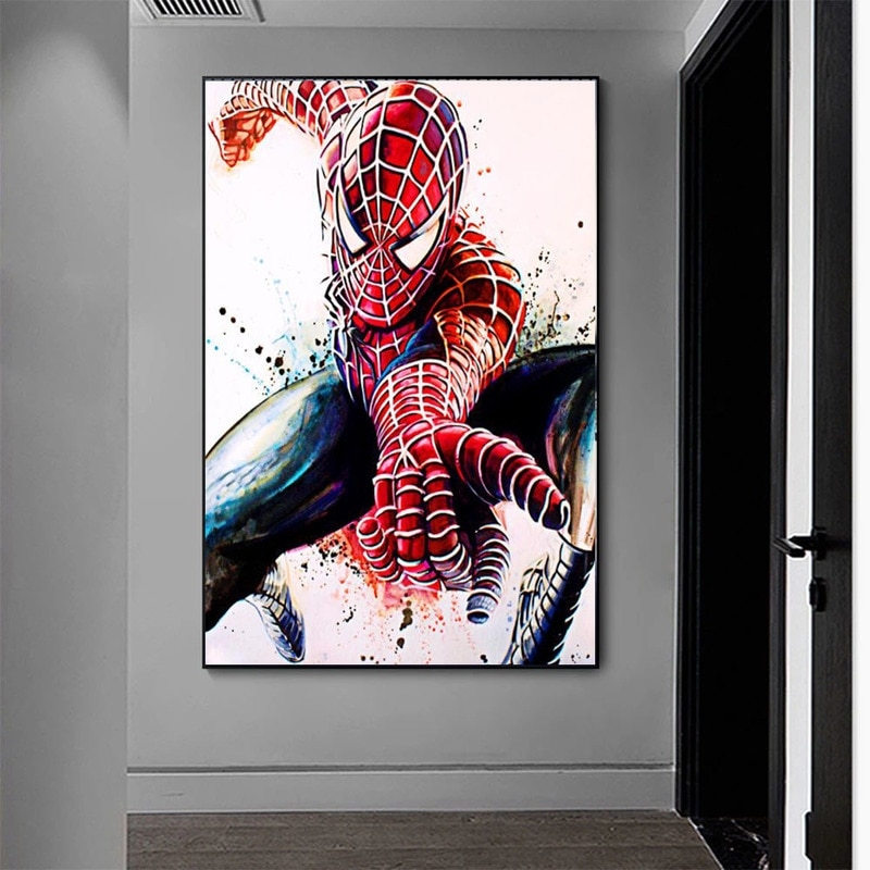 los-vengadores-de-marvel-de-superheroes-para-decoracion-del-hogar-pintura-sobre-lienzo-de-peliculas-carteles-e-impresiones-de-acuarela-abstractas-imagenes-artisticas-de-pared