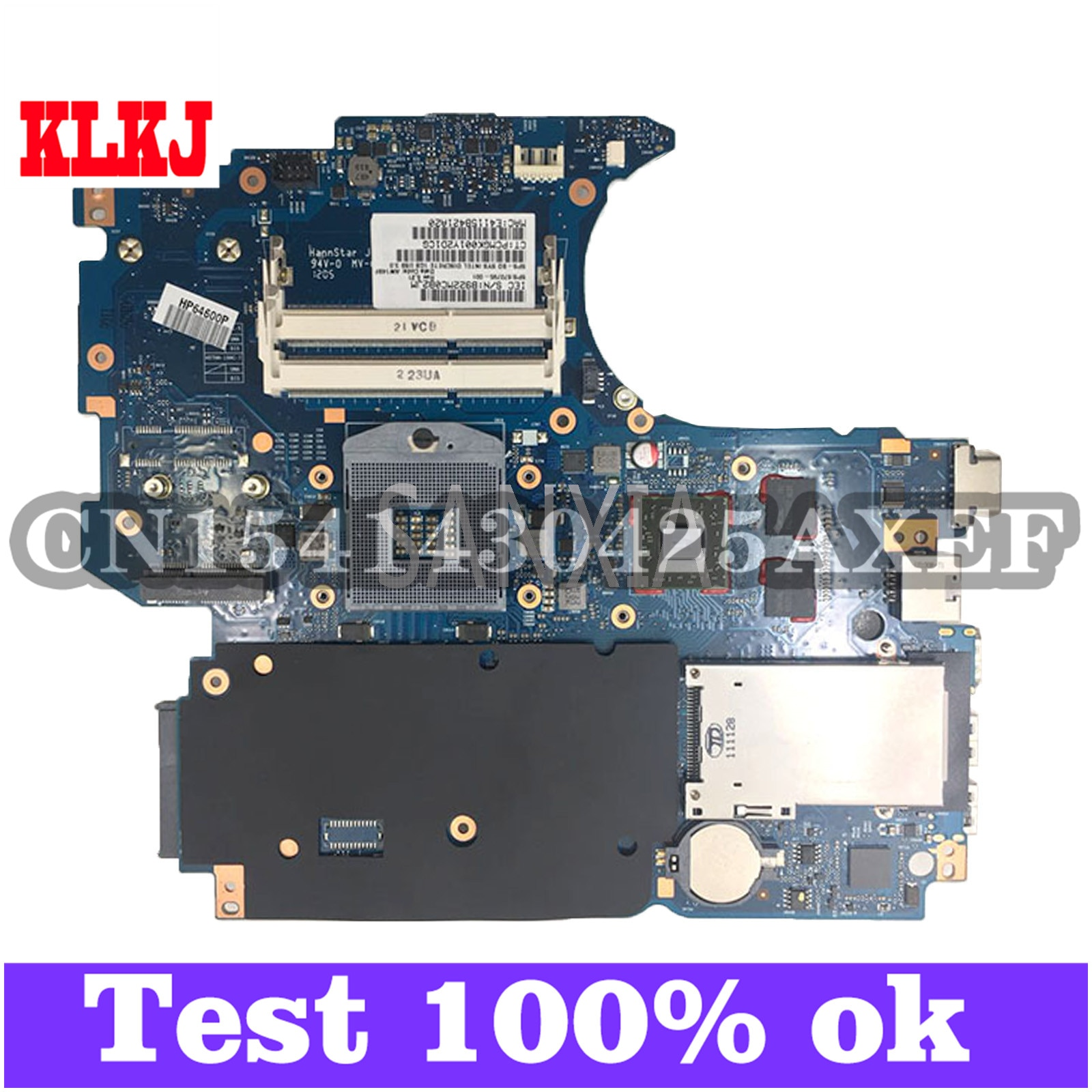 KLKJ 670795-001 لوحة رئيسية لأجهزة HP الكمبيوتر المحمول ProBook 4530s الأصلي