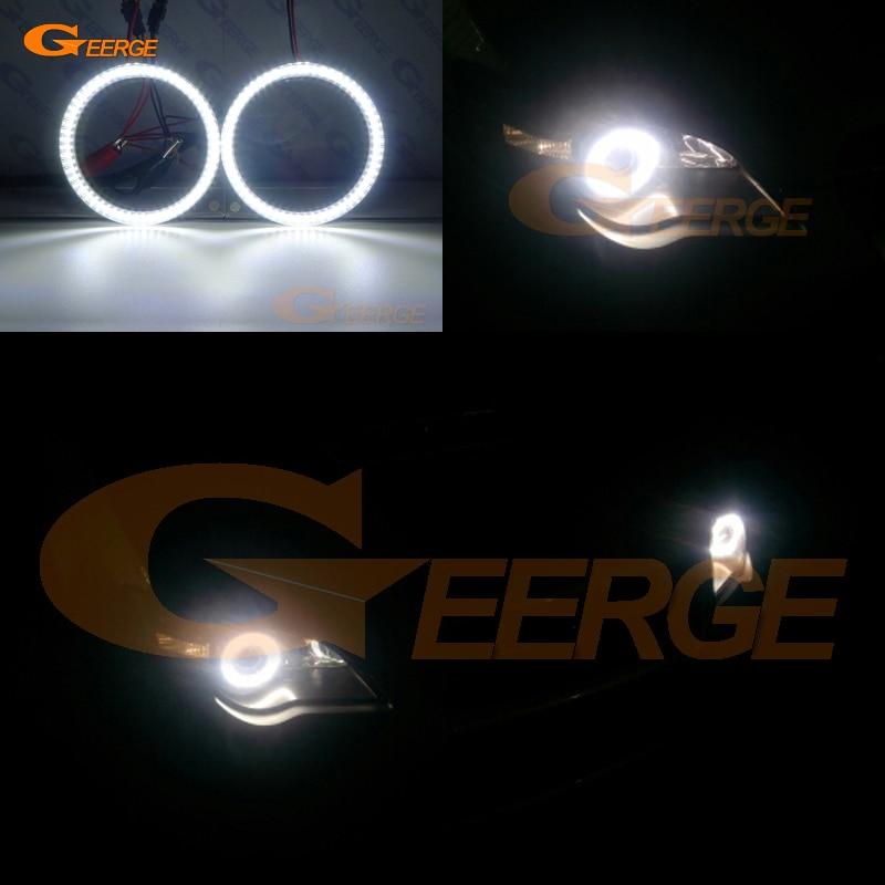 Excelente smd led anjo olhos kit auréola anéis ultra brilhante iluminação drl para subaru legacy b4 liberdade iv 2004 2005 2006