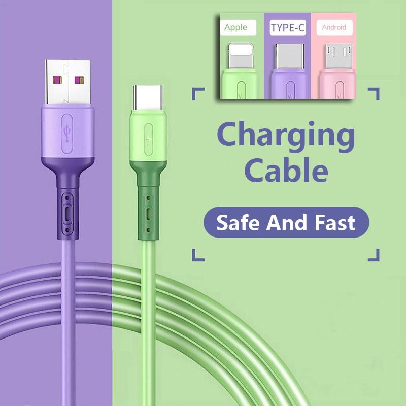 Cable USB para iPhone 12 11 Pro Max Xs X 8 Plus,...