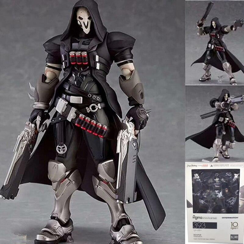 FIGURA DE ACCIÓN DE Figma, 17cm, ow 393, Overwatches, serie Reaper, juguete de modelos coleccionables en PVC