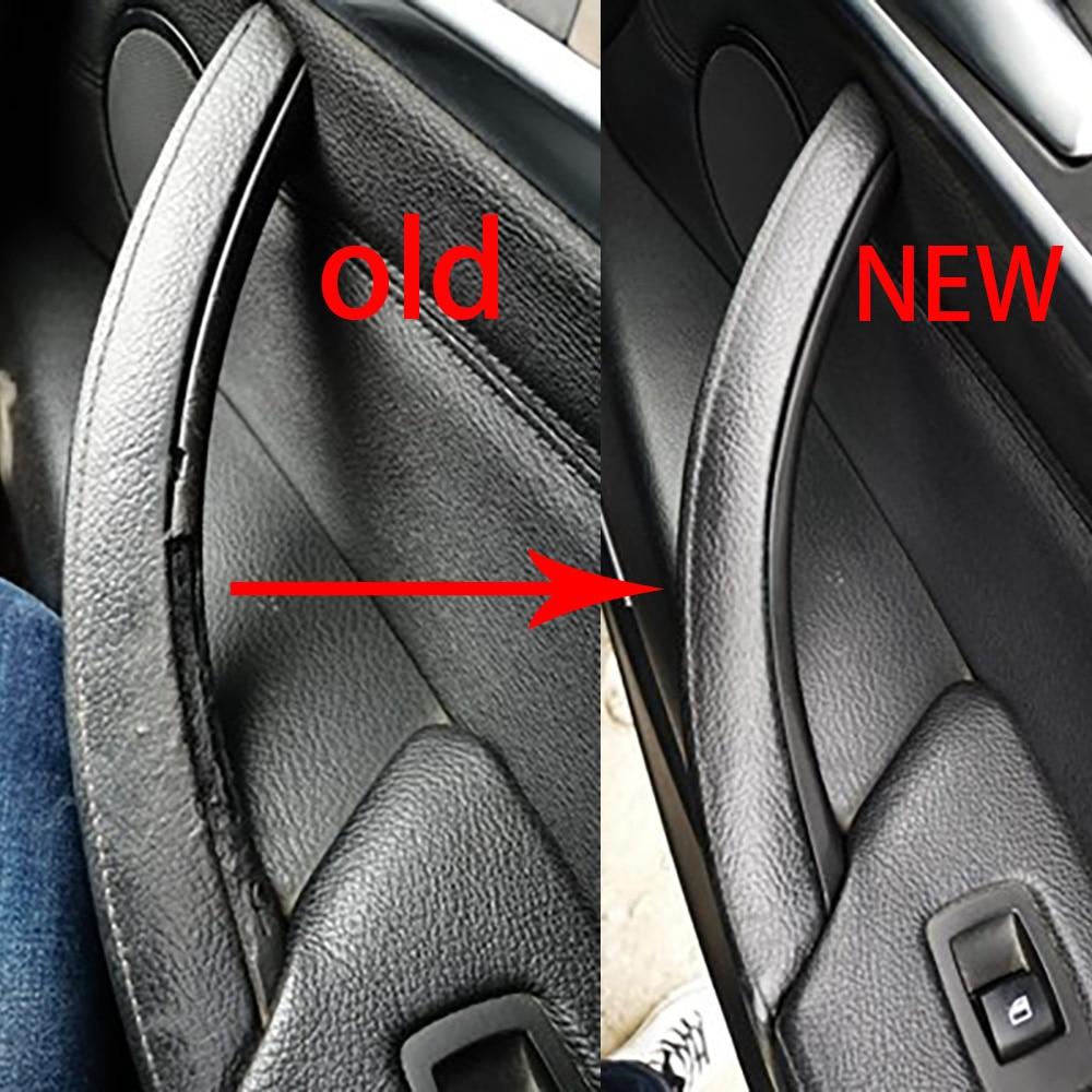 High-quality Car Inner Door Panel Handle Pull Trim Cover For BMW E70 X5 E71 E72 X6 SAV Car Accessori