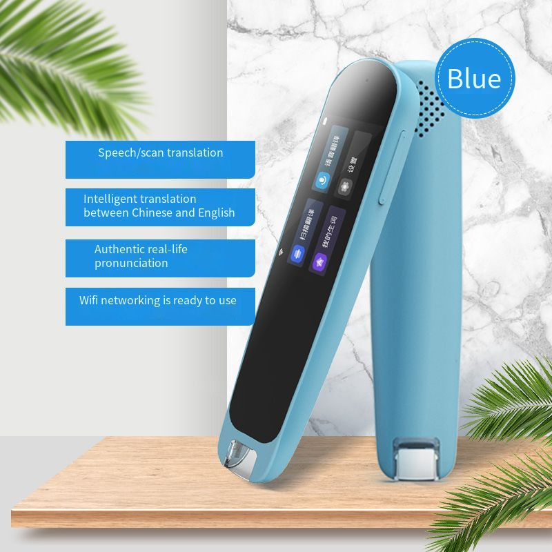 Luxury Touch Screen Support WiFi Chinese / English Portable study Scan Translation Pen Exam Reader Voice Language Translator