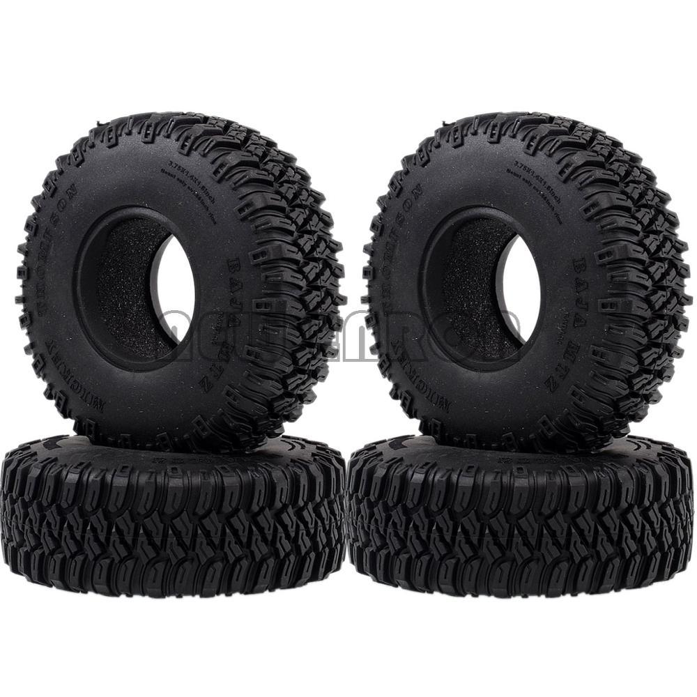 "Nuevo ENRON 4P 1,55 ""96 MM neumáticos de goma suave neumáticos RC orugas coche D90 TF2 Tamiya CC01 LC70 LC80 Axial 90069"