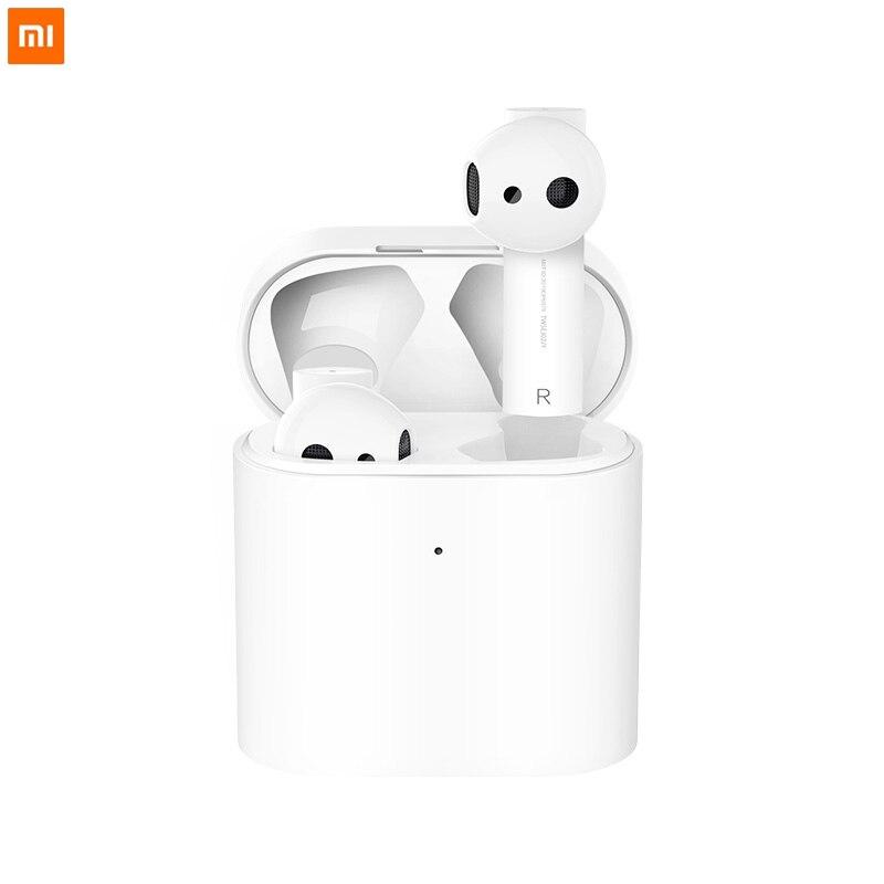 Oringinal Xiaomi Airdots Pro 2 TWS Bluetooth Air 2 Wireless Earphone Dual MIC ENC Smart Voice Control  LHDC Tap Control In Stock